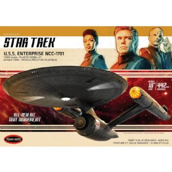 U.S.S. Enterprise from Star Trek Discovery 1:1000 scale